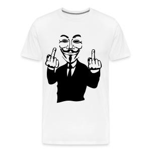 ''Anonymous'' shirt mannen - Mannen Premium T-shirt