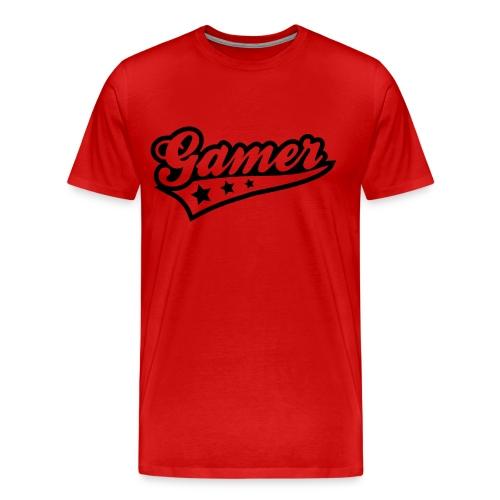 ''Gamer'' shirt mannen - Mannen Premium T-shirt