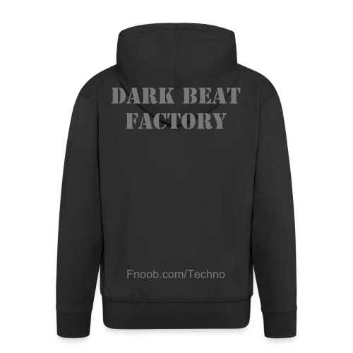 Dark Beat Factory Sweet Black/grey - Veste à capuche Premium Homme