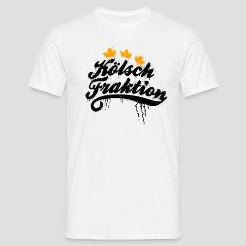KölschFraktion Graffiti-Logo - Männer T-Shirt
