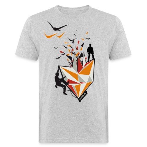 Climbing Gym  - Männer Bio-T-Shirt