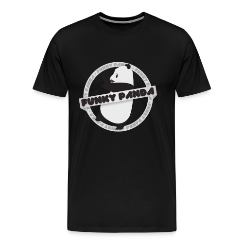 Funky Panda Official Logo Shirt - Men's Premium T-Shirt