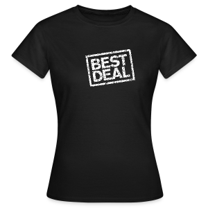 Best Deal T-Shirt (Damen Schwarz Weiß) - Frauen T-Shirt