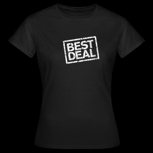Best Deal T-Shirt (Damen Schwarz Weiß) - Frauen T-Shirt