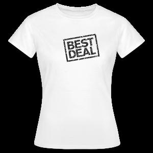 Best Deal T-Shirt (Damen Weiß Schwarz) - Frauen T-Shirt