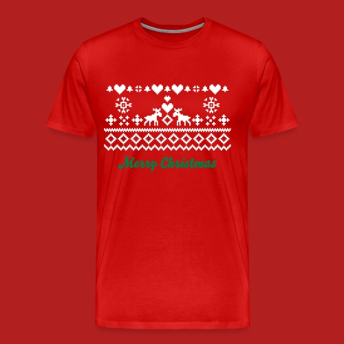 Christmas Jumper - Men's Premium T-Shirt
