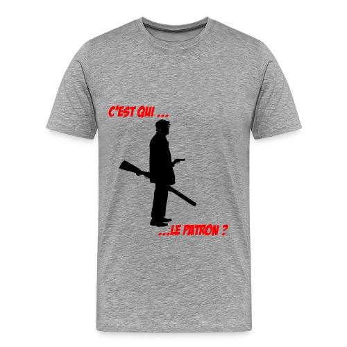 C'est qui ..... Le patron ? - T-shirt Premium Homme