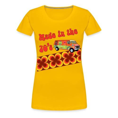 Made in 70s - Women's Premium T-Shirt