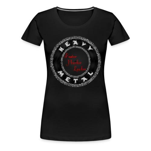 MusaGenret - Naisten premium t-paita