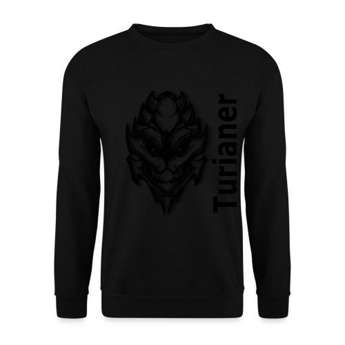 Männer Pullover - Achtung! Dieser Pullover verwendet die hochskalierte Form des Turianer-Logos! Für die Qualität des Endergebnisses können wir nicht garantieren.