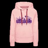 Pullover & Hoodies ~ Frauen Premium Kapuzenpullover ~ Ruhrpott die schönste Stadt, vonne Welt! - Frauen Hoodie