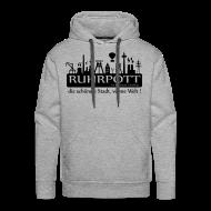 Pullover & Hoodies ~ Männer Premium Kapuzenpullover ~ Ruhrpott die schönste Stadt, vonne Welt! - Hoodie