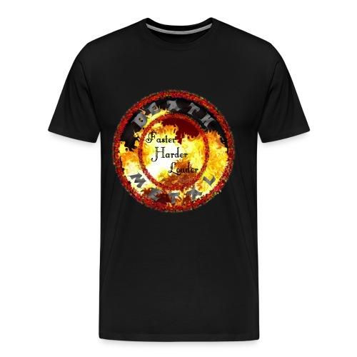 MusaGenret - Miesten premium t-paita