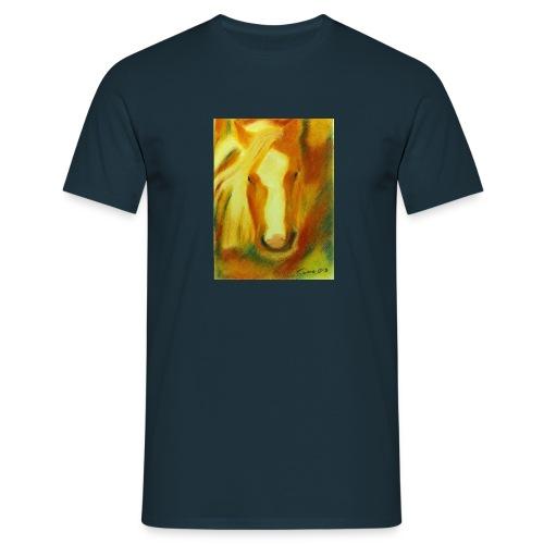 Haflingerkopf T-Shirt - Männer T-Shirt