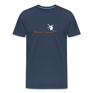 Aspect Ski  (Navy) - Men's Premium T-Shirt