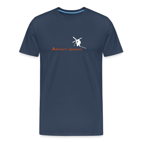 Aspect Ski  (Navy) - Men's Premium T-Shirt