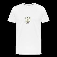 Magliette ~ Maglietta Premium da uomo ~ Maglietta Uomo Dude Da Vinci Disegno Piccolo