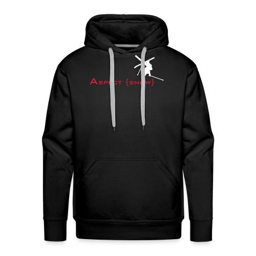 Aspect Ski (Black)  - Men's Premium Hoodie