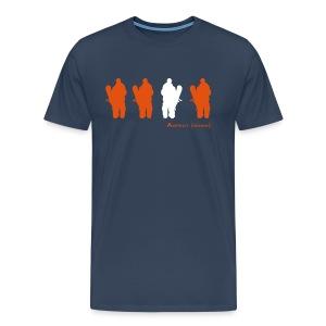 Four Riders (Navy) - Men's Premium T-Shirt