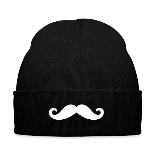 Moustache Beanie Mütze Mustache Schnurrbart - Wintermütze