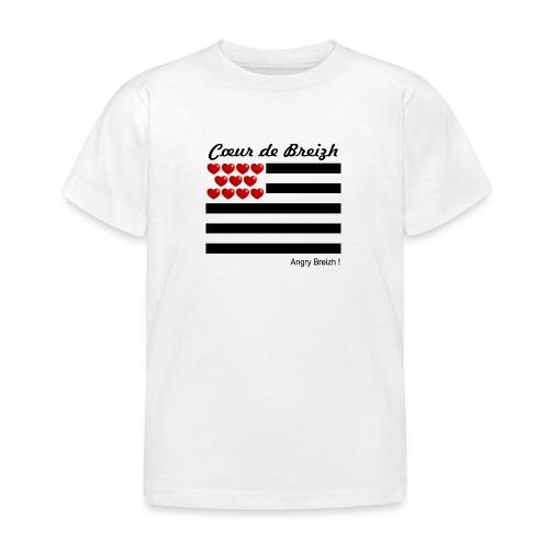 Cœur de Breizh - T-shirt Enfant