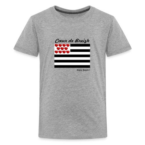 Cœur de Breizh - T-shirt Premium Ado