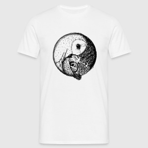 owl and owl T-Shirts - Männer T-Shirt