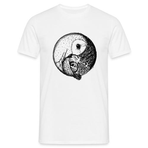 owl and owl - Männer T-Shirt