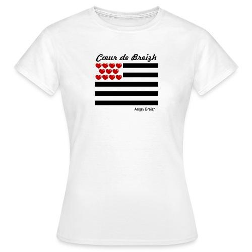 Cœur de Breizh - T-shirt Femme