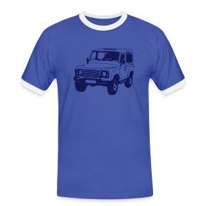 Land Rover Defender - Männer Kontrast-T-Shirt