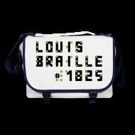 Taschen & Rucksäcke ~ Umhängetasche ~ Louis Braille 1825 - Tasche