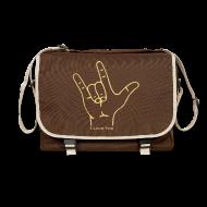 Taschen & Rucksäcke ~ Umhängetasche ~ Fingerzeichen ILY - Tasche
