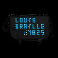 Taschen & Rucksäcke ~ Umhängetasche ~ Louis Braille 1825 - Tasche dunkel