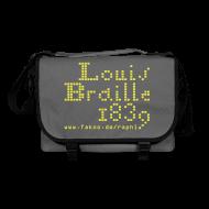 Taschen & Rucksäcke ~ Umhängetasche ~ Louis Braille 1839 - Tasche dunkel
