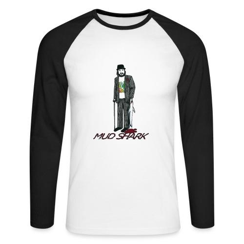 Mud Shark - Baseball trøje - Langærmet herre-baseballshirt