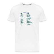 T-Shirts ~ Männer Premium T-Shirt ~ Morse-Alphabet T-Shirt