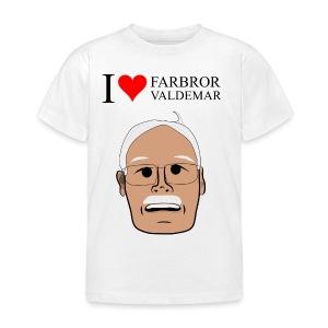I love Valdemar hoddie - T-shirt barn