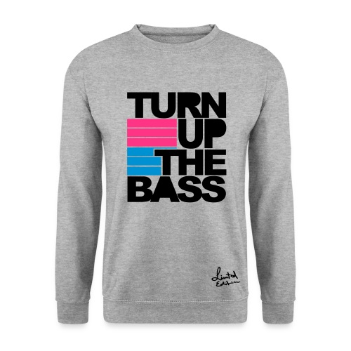 TURN UP THE BASS sweater - Mannen sweater