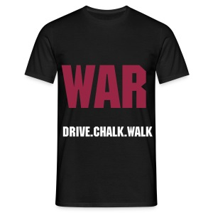 War Drive.Chalk.Walk - Men's T-Shirt