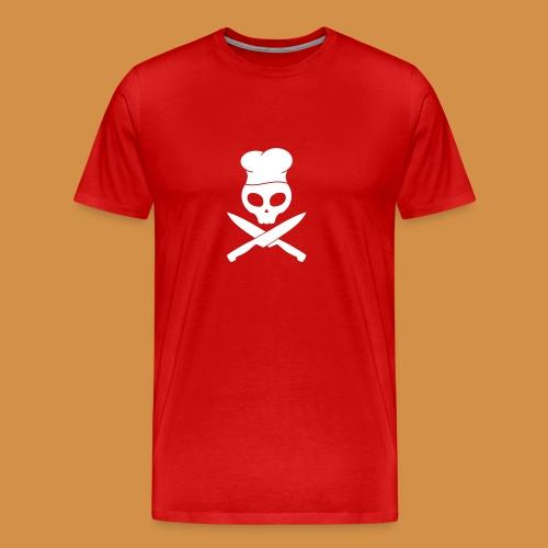 Skull Chef Premium Shirt - Männer Premium T-Shirt