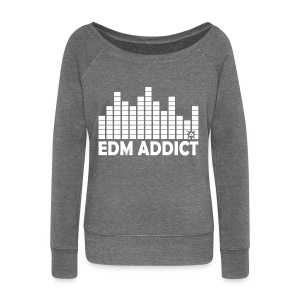EDM Addict SW Woman - Women's Boat Neck Long Sleeve Top