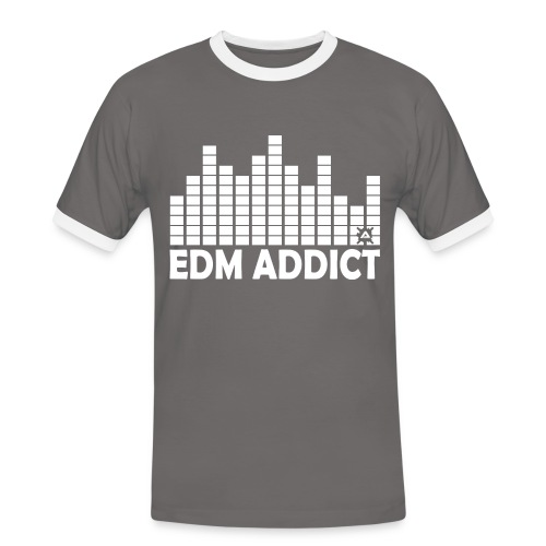 EDM Addict Retro TS Man - Men's Ringer Shirt