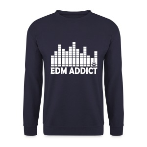 EDM Addict Retro LS Man - Men's Sweatshirt