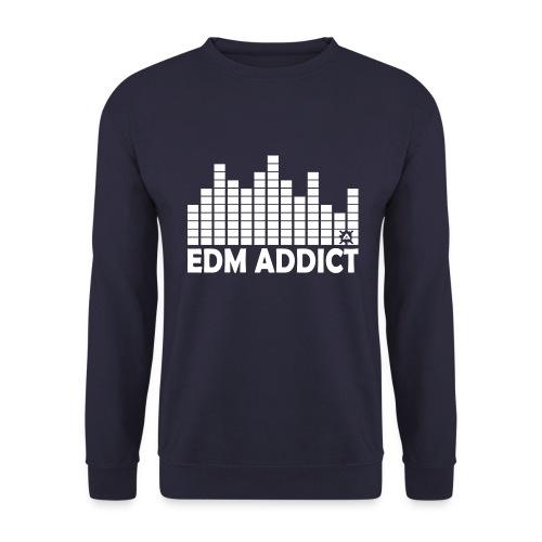 EDM Addict Retro LS Man - Men's Sweatshirt