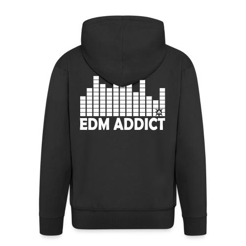 EDM Addict SW Man - Men's Premium Hooded Jacket
