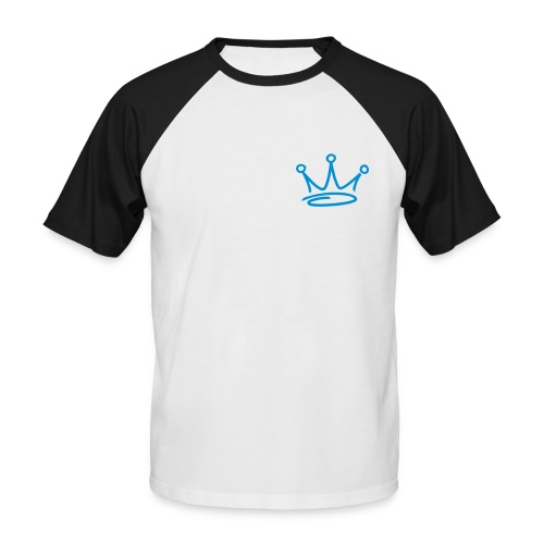 BaseBall Tee Blue Logo - Men's Baseball T-Shirt