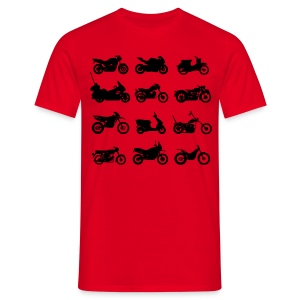 Motos types  Tee shirts - T-shirt Homme