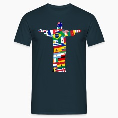 Rio Jesus Nations  T-Shirts