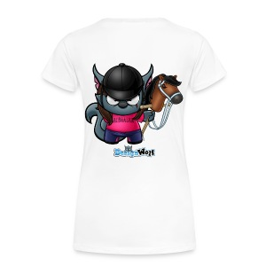 Jockey Wolf - Women's Premium T-Shirt