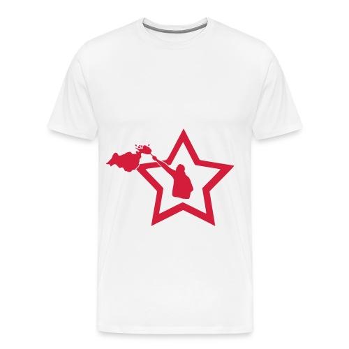 Pyro Stern T-Shirt  - Männer Premium T-Shirt